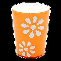 Стакан декорований PAPATYA 0,3 л помаранчевий