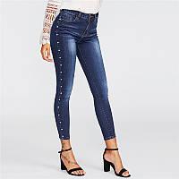 Женски джинсы скинни.Арт.21401