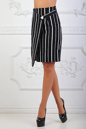 Юбка черная с белой полоской, фото 3
