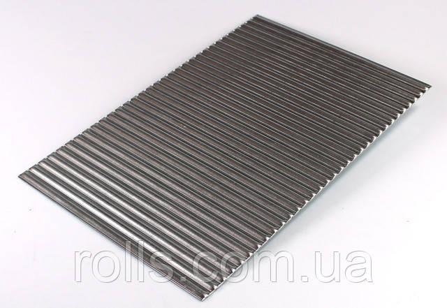 алюминиевый лист для дизайна интерьера рифленый лист алюминий PREFA DESIGN 9018 самый широкий выбор алюминия в рулонах и листах в Украине Роллс груп