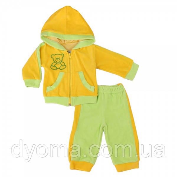 """Детский велюровый костюм """"Гном"""" для девочек и мальчиков"""