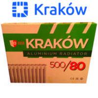 Алюмінієвий радіатор Krakov 500*80 (Польща)