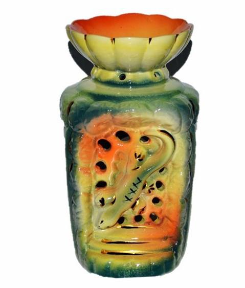 Аромалампа керамическая, Ящерица, h 16 см