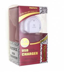 Сетевое зарядное устройство REMAX RED 2USB 2.4A COPY