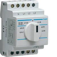 Переключатель вольтметра SK602 Hager