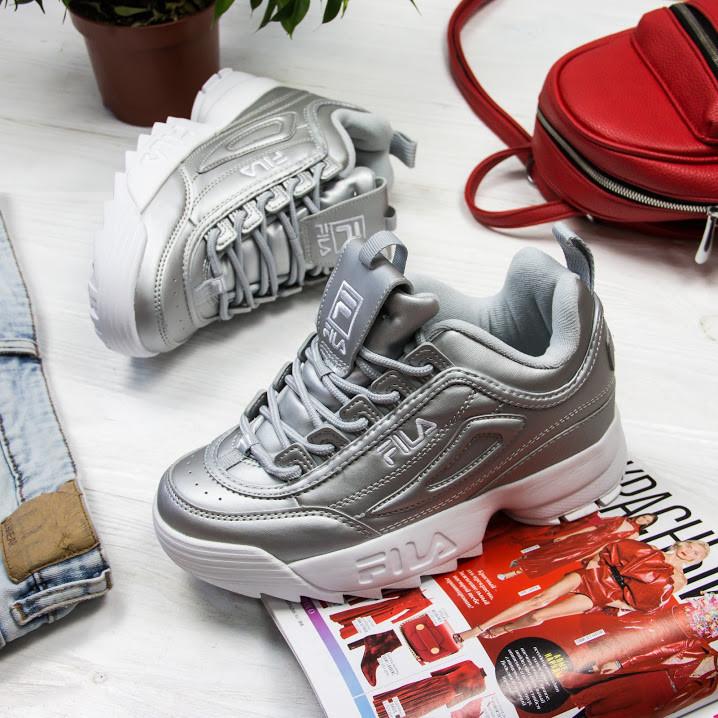 Женские кроссовки в стиле FILA Disruptor (38 размер)