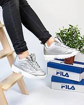 Женские кроссовки в стиле FILA Disruptor (38 размер), фото 2