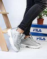 Женские кроссовки в стиле FILA Disruptor (38 размер), фото 3