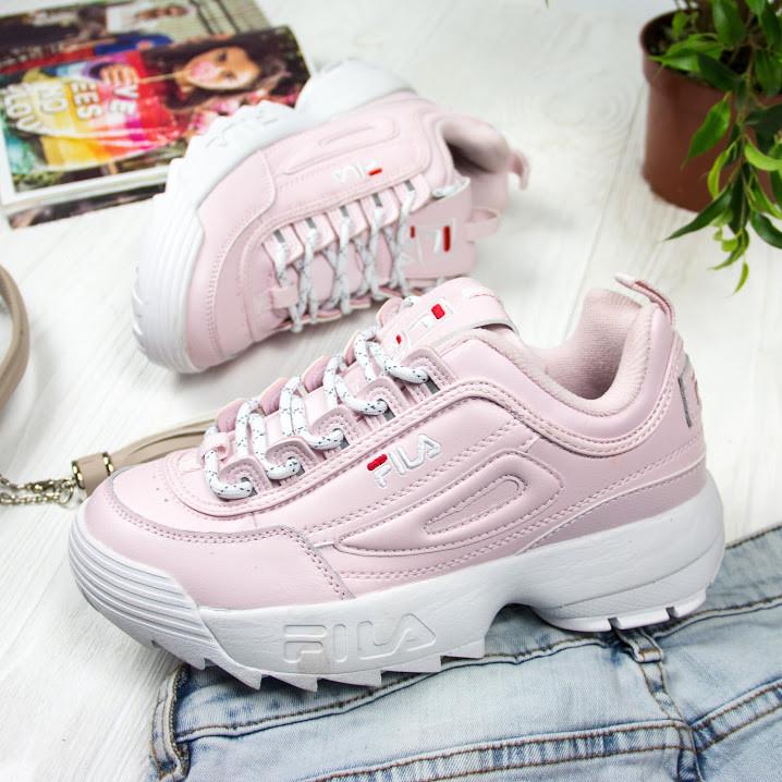 Женские кроссовки в стиле FILA Disruptor (40 размер)