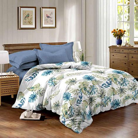 Двуспальный комплект постельного белья 180*220 сатин (10065) TM КРИСПОЛ Украина, фото 2