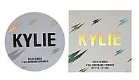 Компактна подвійна пудра Kylie Full Coverage Powder (палітра 3 шт)