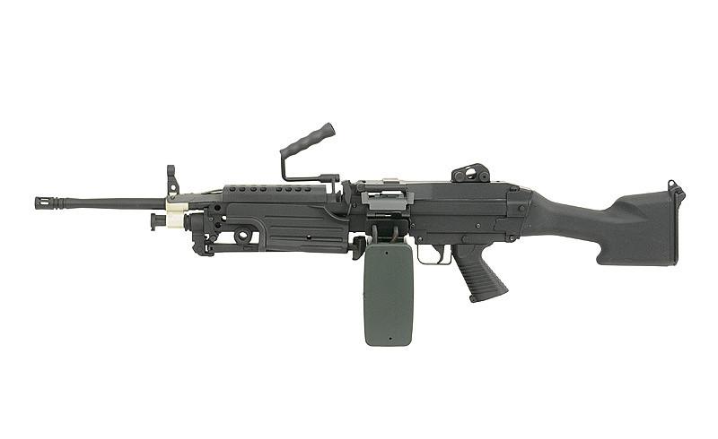 Пулемёт М249 MK II – BLACK [A&K] (для страйкбола)