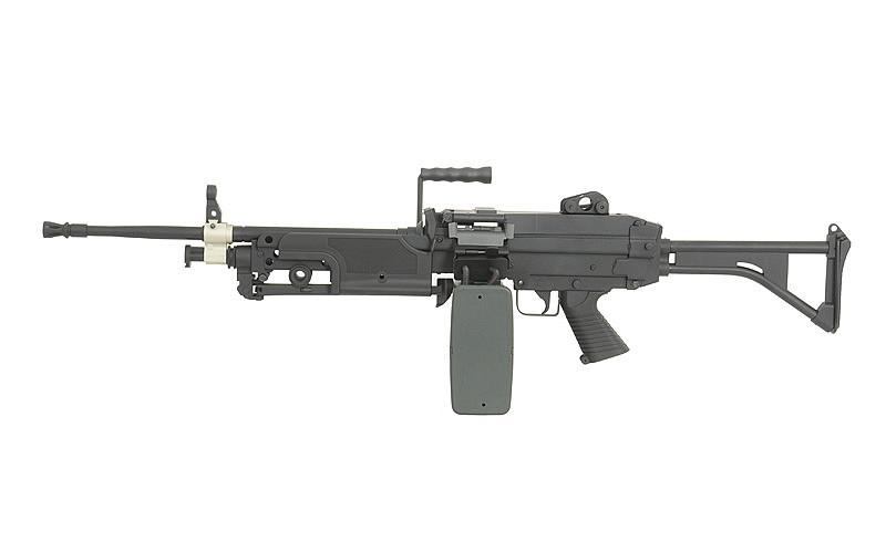 Пулемет М249 МК1 – BLACK [A&K] (для страйкбола)