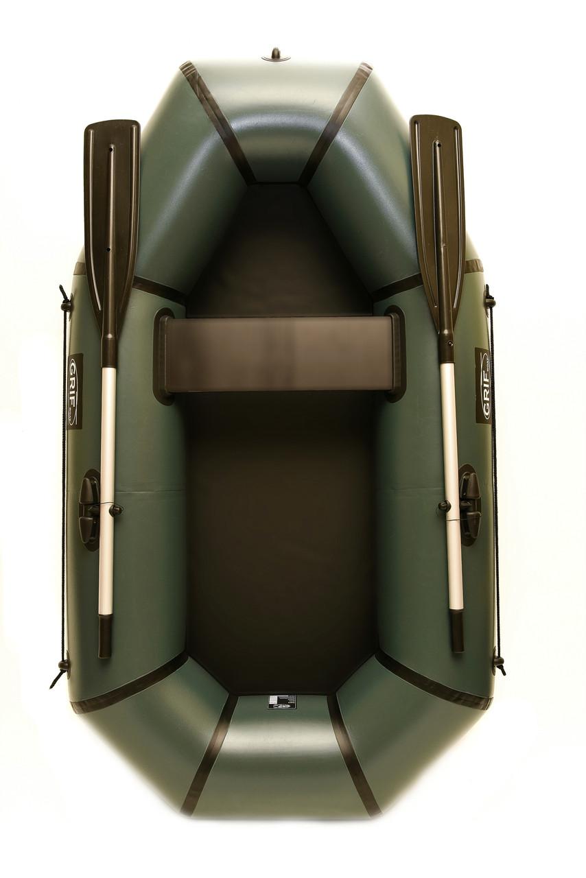 Лодка пвх надувная полутораместная Grif boat GH-210L