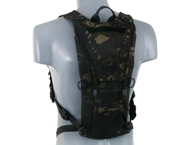 3 литровый тактический гидратационный рюкзак – MULTICAM BLACK[8FIELDS] (для страйкбола)