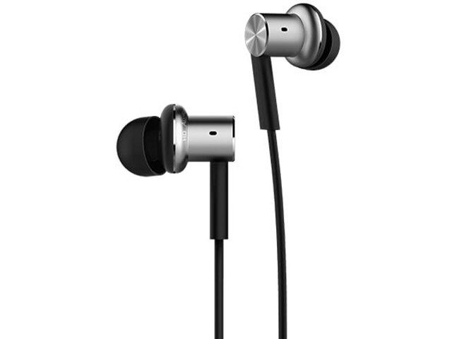 Оригинальные наушники Xiaomi Mi In-Ear Headphones Pro HD Silver