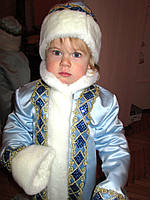 Костюм Снегурочки 6-8 лет