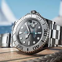 Наручные часы Rolex Yacht-Master 40 Dark Rhodium мужские копия