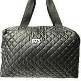 Стеганные сумки (фиолет стёганный)30*38, фото 2