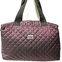 Стеганные сумки (бордо стёганный)30*38