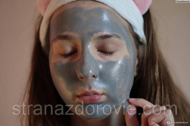 Глиняно-желатиновая маска-плёнка.