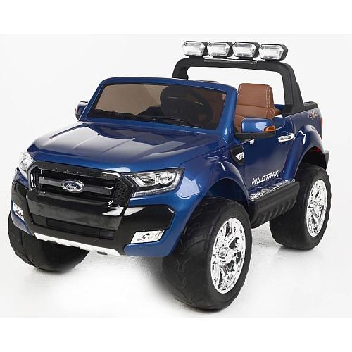 Детский двухместный электромобиль AT Ford Ranger 4X4 Blue (F 650)