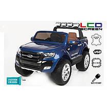 Детский двухместный электромобиль AT Ford Ranger 4X4 Blue (F 650), фото 3
