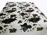 Меховый плед корова(евроразмер)