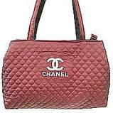 Стеганные женские сумки Chanel оптом (6 цветов)40*55см, фото 3