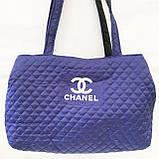 Стеганные женские сумки Chanel оптом (6 цветов)40*55см, фото 2