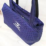 Стеганные женские сумки Chanel оптом (6 цветов)40*55см, фото 4