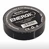 Изоляционная лента ENERGIO ПВХ 0,13х19 мм чёрная 20 метров