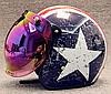 Ретро шлем полулицевик звезда с бабл визором , фото 5