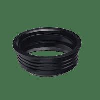 Редукция 110/124 мм резиновая вн. Форт-пласт