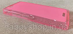 Силиконовый чехол-накладка для Fly IQ4501 (Розовый), фото 3