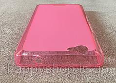 Силиконовый чехол-накладка для Fly IQ4501 (Розовый), фото 2