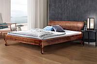 Кровать Николь (темный орех) 1800