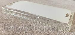 Силиконовый чехол-накладка для Fly IQ4501 (Белый), фото 3