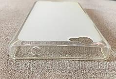 Силиконовый чехол-накладка для Fly IQ4501 (Белый), фото 2