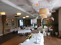 """Свадебное оформление зала ресторана """"Family club"""""""