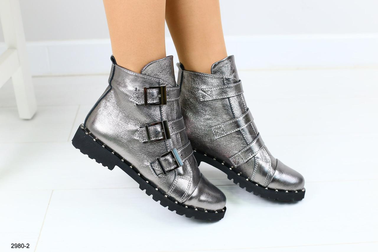 d796042f2 Женские демисезонные кожаные ботинки - купить по лучшей цене в ...