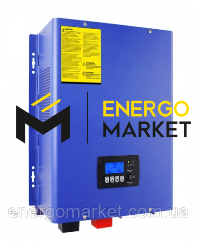 Инвертор PL20-6000W 48VDC 230VAC (МРРТ)