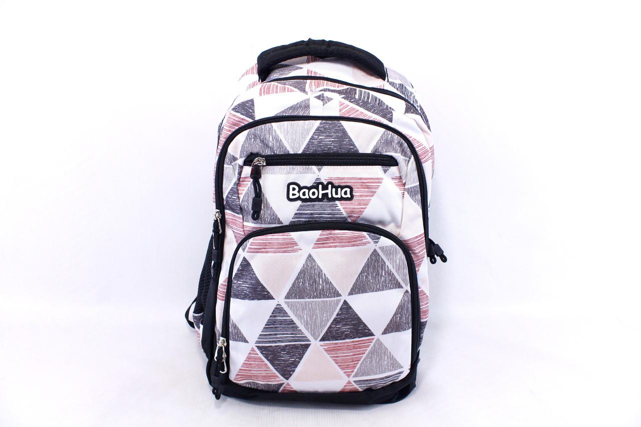 """Подростковый школьный рюкзак """"Baohua 7628"""""""