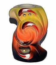 Аромалампа керамічна, Хвиля, h11 см