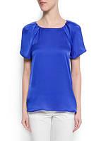 Блуза синяя MANGO, размер L