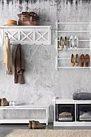 Полка для обуви деревянная ELLOS, Высота 29,5 см Ширина 67,5 см Глубина 13,5 см