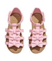Сандалии для девочки розовые H&M, Размер: 33