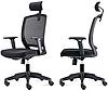Кресло офисное с подголовником Акцент