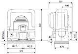 CAME BK-1200 MINI-KIT Комплект автоматики для воріт вагою до 1200 кг, фото 2