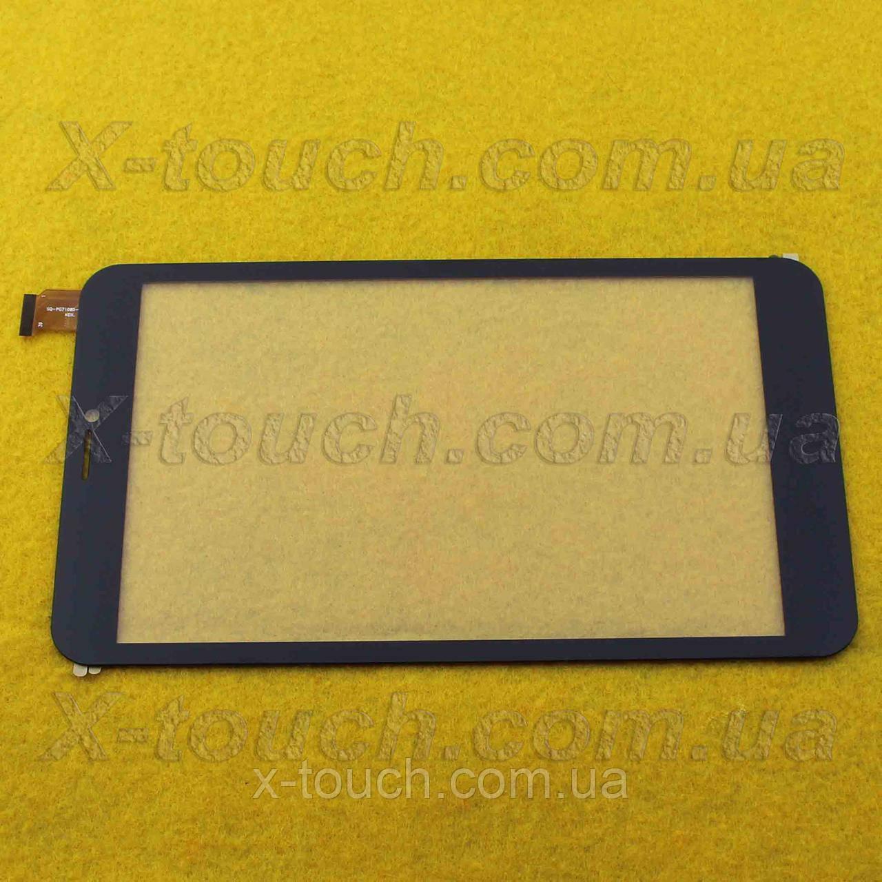 Cенсор, тачскрин SQ-PG71085-FPC-A0 для планшета, цвет черный.